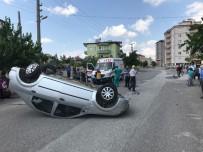 Trafik Eğitiminde Kaza Yaptı Şoka Girdi