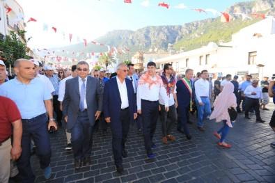 21. Likya Kaş Kültür Ve Sanat Festivali Başladı