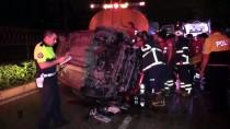 Adana'da İki Araca Çarpan Otomobilin Sürücüsü Öldü