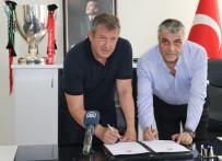 YARıNDAN SONRA - Akhisar Belediyespor'un Yeni Teknik Direktörü Susic İmzayı Attı