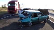 TEKELI - Aksaray'da Trafik Kazası Açıklaması 5 Yaralı