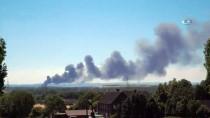 REN VESTFALYA - Almanya'da Korkutan Yangın