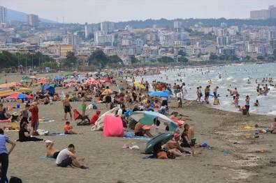 Atakum Sahili Antalya'yı Aratmadı