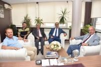 ESNAF VE SANATKARLAR ODASı - Başkan Albayrak Çorlu'daki Oda Ve STK Başkanlarıyla Bir Araya Geldi