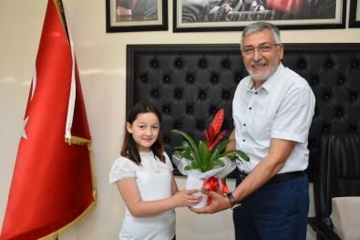 Başkan Kadir Bozkurt'a Teşekkür Ziyareti