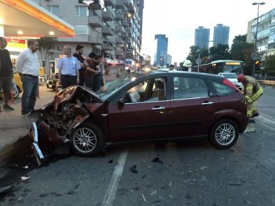 Beşiktaş'ta Zincirleme Trafik Kazası Açıklaması 4 Yaralı