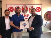 MEHMET ŞİMŞEK - Bil-Genç Derneği'den MHP'ye Ziyaret