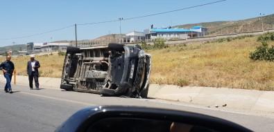 Bingöl'de Trafik Kaza Açıklaması 1 Yaralı