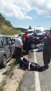 Denizli'de Trafik Kazası Açıklaması 6 Yaralı