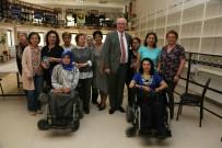 İŞARET DİLİ - Engelsiz Kültür Ve Sanat Merkezi'nde Atölye Çalışmaları Başlıyor
