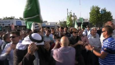 Filistinli İsmail Natşeh 15 Yıl Sonra Özgürlüğüne Kavuştu