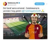 MILANO - Galatasaray Nagatomo'yı KAP'a Bildirdi