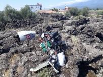 KARAHASANLı - Hatay'da insansız hava aracı düştü
