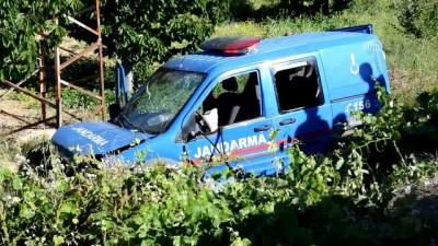 Karaman'da Askeri Araç Şarampole Düştü Açıklaması 2 Yaralı