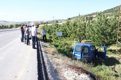 Karaman'da Jandarma Aracı Kaza Yaptı Açıklaması 2 Asker Yaralandı