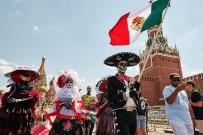 HONDURAS - Meksika Taraftarı 'Ölüler Günü Festivali''ni Moskova'ya Taşıdı