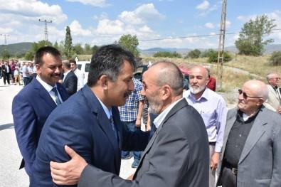 MHP Milletvekili Yaşar Yıldırım, Kızılcahamam'a Teşekkür Etti