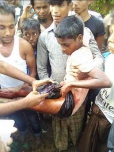 Myanmar Ordusu Bir Çocuğu Yaraladı