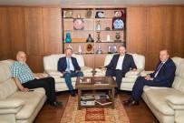 PROJE PAZARI - Rektör Uzun, MÜSİAD Başkanı Kaan'ı Ziyaret Etti