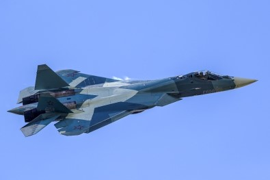 Rusya'da SU-57'Nin İlk Üretimi Tamamlanıyor