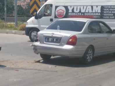 Sungurlu'da Trafik Kazası Açıklaması 2 Yaralı