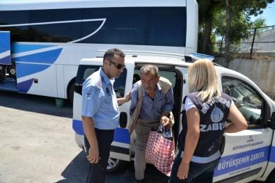 Tatil Beldesi Dilencileri Zabıtaya Takıldı