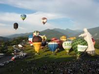 SICAK HAVA BALONU - Tayvan Uluslararası Sıcak Hava Balonu Festivali Başladı
