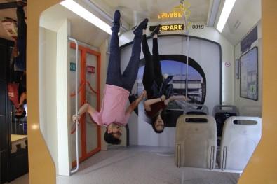 Ters Tramvay Espark'ta Ziyaretçilere Sunuldu