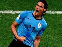 EDINSON CAVANI - Uruguay çeyrek finalde