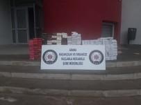 Adana'da 3 Bin 350 Paket Kaçak Sigara Ele Geçirildi