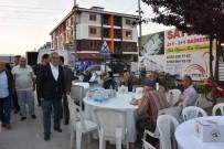 FAHRI ÇAKıR - Başkan Ay, Halkla Birlikte Oruç Açtı