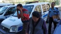 YAŞLI KADIN - 'Dilenmiyor' Diye Yaşlı Kadını Dövdüğü İddia Edilen Oğlu Ve Gelini Yakalandı