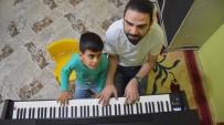 PIYANIST - Görme Engelli Bager'in Piyano Hayali Gerçek Oldu