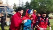 HAVA MUHALEFETİ - GÜNCELLEME - Demirkazık Dağı'nda 3 Dağcı Mahsur Kaldı