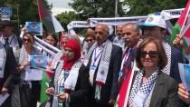 BARıŞ GÜCÜ - HAK-İŞ'ten İsrail'in Katliamlarına Cenevre'de Protesto