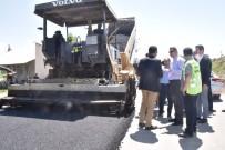 YALIM EREZ - İpekyolu Belediyesinden Yol Asfaltlama Çalışması