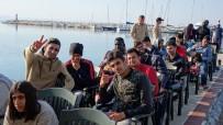 Jandarma Ve Sahil Güvenlikten Kaçak Göçmen Operasyonu