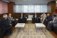 TOPLUM MERKEZİ - Kızılay Genel Başkanı Kınık, Başkan Çelik'i Ziyaretinde Kayserililerden Övgüyle Bahsetti
