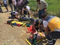 İSMAIL KARAKUYU - Kütahya'da Trafik Kazası Açıklaması 1 Ölü 1 Yaralı