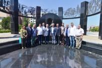 Mestanlı Belediyesi'nden Bozbey'e Ziyaret