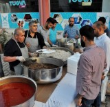 Midyat'ta Kazanlar Yetimler Ve Şehit Aileleri İçin Kaynadı