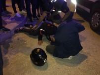 TOKI - Motosiklet Sürücüsü Otomobile Çarptı; 1 Yaralı