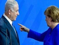 ATOM BOMBASı - Netanyahu Merkel'i ikna edemedi