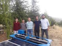 ELEKTRİK ÜRETİMİ - Öğrencilerden Güneş Paneli Yıkama Robotu