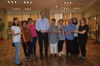 HATTAT - PAÜ Hastanesi'nde 'Geçmişten Gezintiler Tezhip-Çini Ve Hat' Sergisi Açıldı