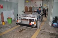 RÜZGAR TÜRBİNİ - Sanat Lisesi Öğrencileri Geri Dönüşüm Malzemelerinden Otomobil Yaptı