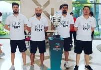 Umurbey Beldiyespor'dan Troya Yılı Tanıtımına Destek