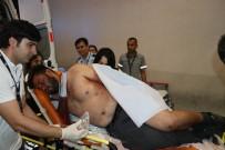 Bıçakla Yaralandı, Kurtulmak İçin 25 Kilometre Araç Sürdü