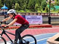 GÜMÜŞDERE - Bisikletseverler Gümüşdere'de Buluştu