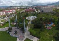 93 HARBİ - Büyükşehir'den Aziziye Parkı'na Özel Peyzaj